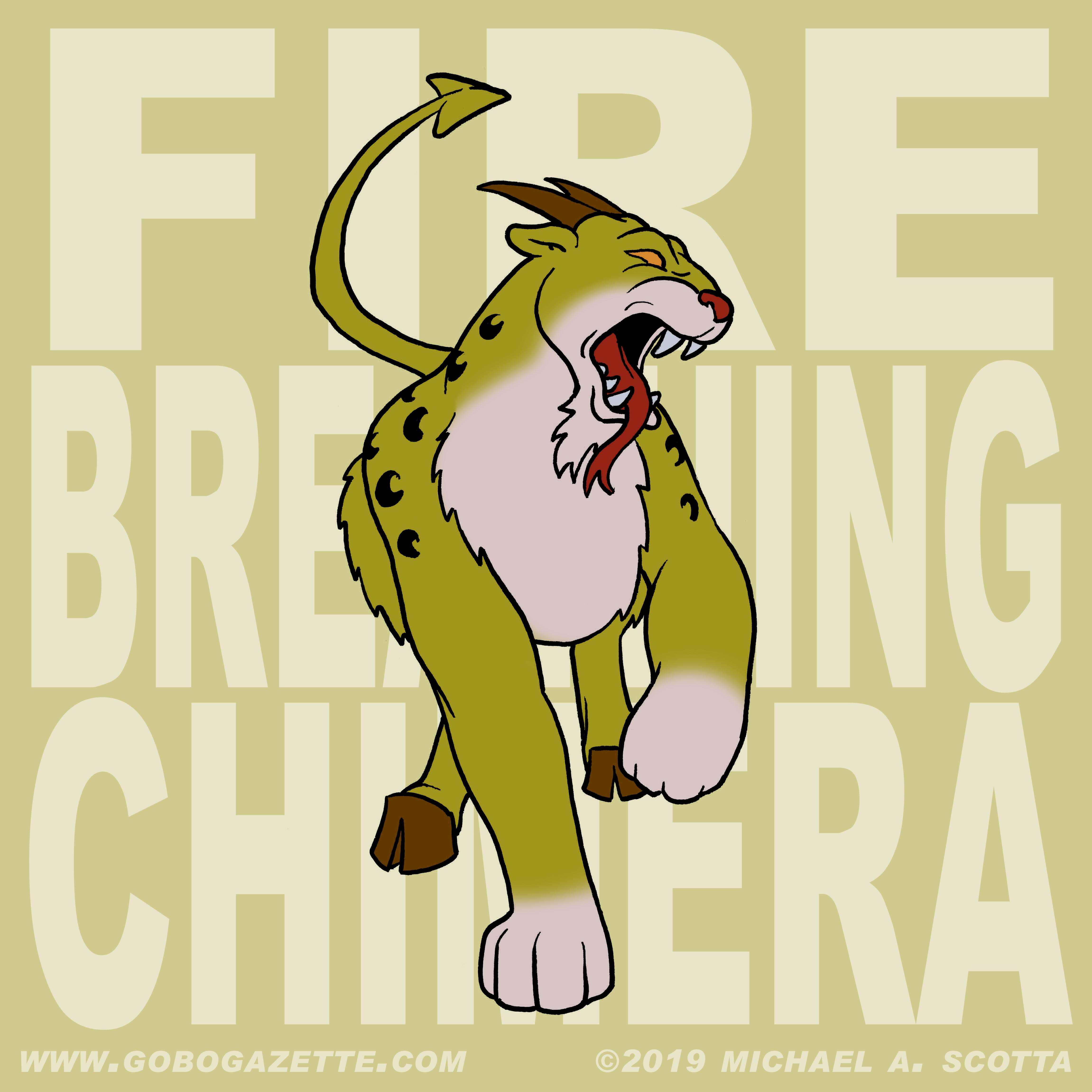 Fire Breathing Chimera