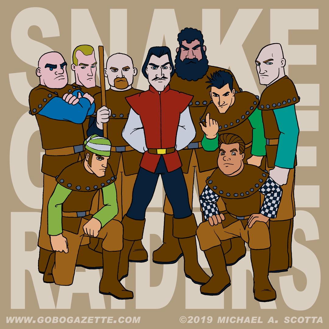 Snake Gorge Raiders