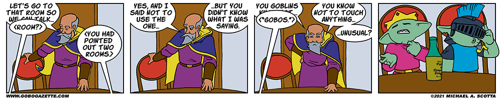 "19.05 It's ""Gobos"""